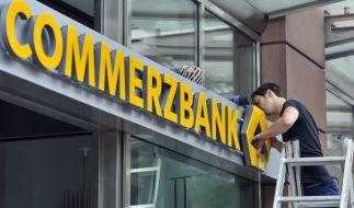 Die Commerzbank will 200 Filialen schließen. (Foto)