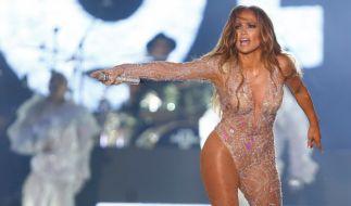 Jennifer Lopez zeigt sich im Netz fast nackt. (Foto)