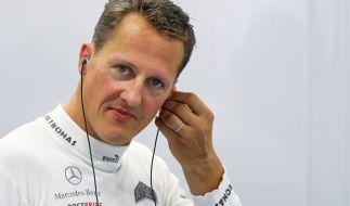 Michael Schumacher lebt seit seinem Ski-Unfall zurückgezogen. (Foto)