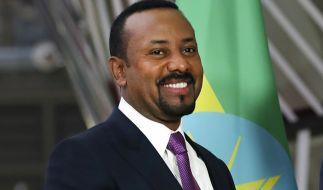 Der äthiopische Ministerpräsident Abiy Ahmed wird mit dem Friedensnobelpreis 2019 ausgezeichnet. (Foto)