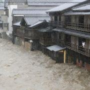 Mindestens 26 Tote durch Taifun - Viele Überschwemmungen (Foto)