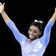 Simone Biles gewinnt 25. Medaille bei Weltmeisterschaft (Foto)