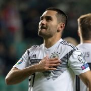 DFB-Nationalspieler Ilkay Gündogan erzielt zwei Tore gegen Estland.
