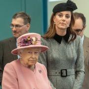 Dramatische Trennung! Herzogin Kate total fertig wegenQueen Elizabeth II. (Foto)