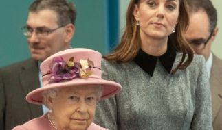 Queen Elizabeth II. soll lange an Kate Middleton gezweifelt haben. (Foto)
