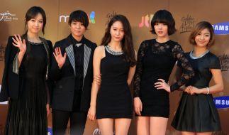 Die koreanische Girlgroup F(x) ist nicht nur in Südkorea ein Hit. (Foto)