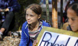 Greta Thunberg, Klimaaktivistin und Schülerin aus Schweden (Foto)