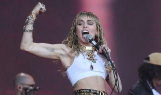 Miley Cyrus ist offenbar schwer verliebt. (Foto)