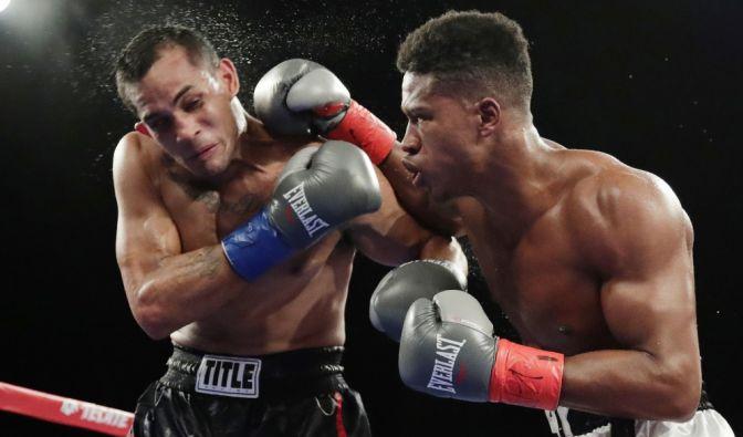 Der Boxer Patrick Day (rechts) ist nach einem brutalen K.o. gestorben. (Foto)