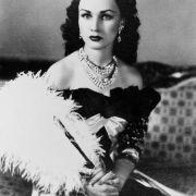 Wegen ihres Aussehens wurde Königin Fausia oft dem Filmstar Vivien Leigh verglichen.