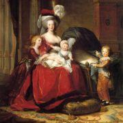Königin Marie Antoinette und ihre Kinder