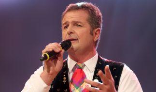 """Norbert Rier, der Frontmann der Volksmusikgruppe die """"Kastelruther Spatzen"""" hat eine schwere Herz-Operation gut überstanden. (Foto)"""