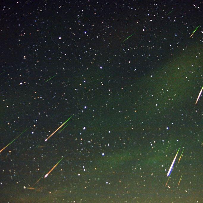 Alle 2 Minuten! Ein wahrer Sternschnuppen-Regen (Foto)
