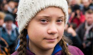 Greta Thunberg ist immer wieder Ziel des Hasses, wie Auto-Aufkleber zeigen. (Foto)