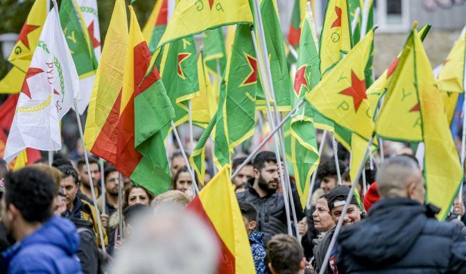 Kurden-Demoam 19.10.2019 in Köln