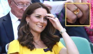 Kate trägt einen Ring mit heilenden Kräften (Foto)