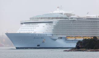 """Auf dem Kreuzfahrtschiff """"Allure of the Seas"""" hat sich eine Passagierin wegen eines Selfies in Lebensgefahr gebracht. (Foto)"""