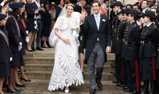Prinz Jean-Christophe, Prinz Napoléon hat seine Verlobte Olympia von Arco-Zinneberg (Foto)