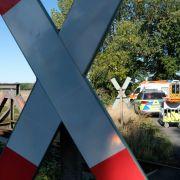 43-Jähriger unachtsam - von Zug erfasst - tot (Foto)