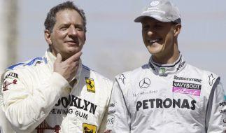 Sowohl Jody Scheckter als auch Michael Schumacher sind ehemalige Formel-1-Weltmeister. (Foto)