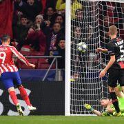 Leverkusen vermasselt bei Atletico zu Gast - FCB ohne Süle (Foto)