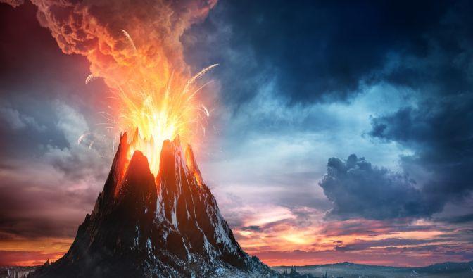 Aktive Vulkane in aller Welt