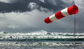 Am Wochenende wird's im Norden stürmisch. (Foto)