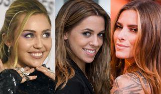 Miley Cyrus, Vanessa Mai und Sophia Thomalla sind nur drei der Promi-Ladys, die in dieser Woche ihren Fans den Kopf verdrehten. (Foto)