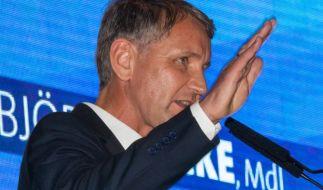 Landtagswahl Thüringen 2019: AfD-Fraktionsvorsitzender und Spitzenkandidat Björn Höcke beimWahlkampfauftakt (Foto)