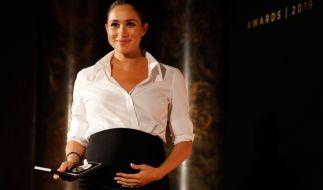 Royalen Insidern zufolge dürfte die zweite Schwangerschaft von Meghan Markle nicht mehr lange auf sich warten lassen. (Foto)
