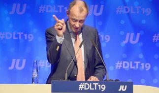 Ex-Unionsfraktionschef Friedrich Merz attackiert Kanzlerin Merkel. (Foto)