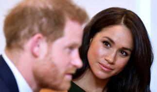 Eigentlich hatten Meghan Markle und Prinz Harry eine gemeinsame sechswöchige Auszeit geplant - jetzt jettet der 35-Jährige jedoch ganz allein ans andere Ende der Welt. (Foto)