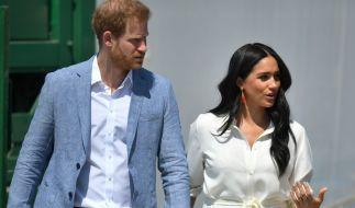 Hängt bei Prinz Harry und Meghan Markle der Haussegen wirklich so schief, wie US-amerikanische Klatschblätter behaupten? (Foto)