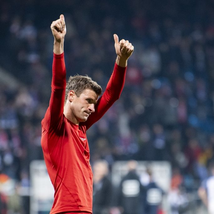 Torschlusspanik! Müller rettet Bayern gegen Bochum (Foto)