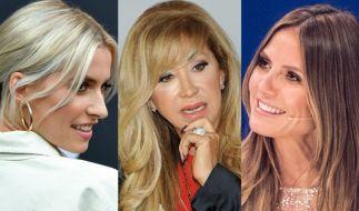 Lena Gercke, Carmen Geiss und Heidi Klum waren nur drei Stars, die diese Woche in den Promi-News auftauchten. (Foto)