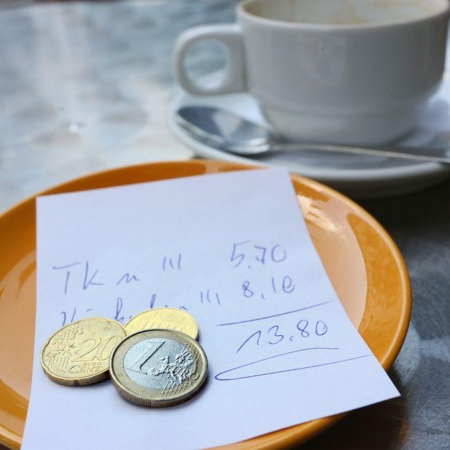 HIER ist Trinkgeld Pflicht! (Foto)