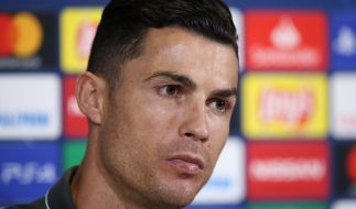 Cristiano Ronaldo trauert um seinen Friseur. (Foto)