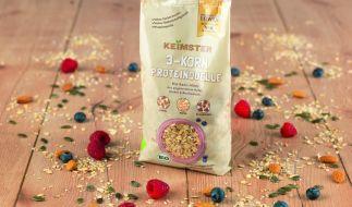 KEiMSTER Bio-Basis-Müsli mit angekeimten Getreidekörnern (Foto)