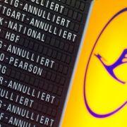 Lufthansa-Flugbegleiter drohen mit Ausweitung der Streiks (Foto)