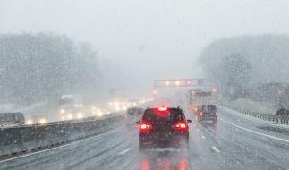 Drohen Deutschland am Wochenende extreme Regen- und Schneefälle? (Foto)