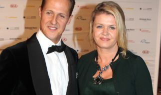 Michael Schumacher und seine Frau Corinna im Jahr 2012. (Foto)