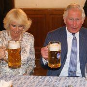 Schluckspecht? HIER gönnte sich die Herzogin ein Gläschen (Foto)