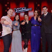 TVOG-Finalisten: (v.l.) Erwin Kintop, Claudia Santoso, Fidi Steinbek, Freschta Akbarzada und Lucas Rieger.