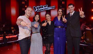 TVOG-Finalisten: (v.l.) Erwin Kintop, Claudia Santoso, Fidi Steinbek, Freschta Akbarzada und Lucas Rieger. (Foto)