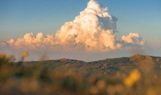 Eine Cumulonimbuswolke. (Foto)