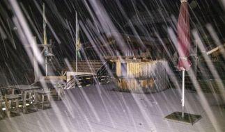 Im Allgäu muss es oberhalb 800 Meter mit Glätte durch geringfügigen Schneefall gerechnet werden. (Foto)