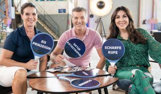 """Witt (links), Weiss, Williams: Sie sind die Juroren bei """"Dancing on Ice"""". (Foto)"""