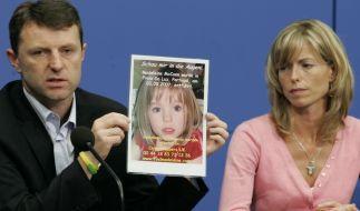 Wollen die Suche nach ihrer vermissten Tochter nicht aufgeben:Kate und Gerry McCann. (Foto)