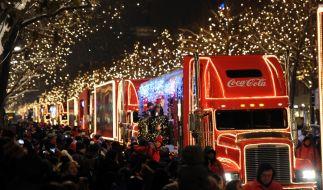 Die Coca-Cola-Weihnachtstrucks kommen auch 2019 wieder auf Deutschland-Tour. (Foto)