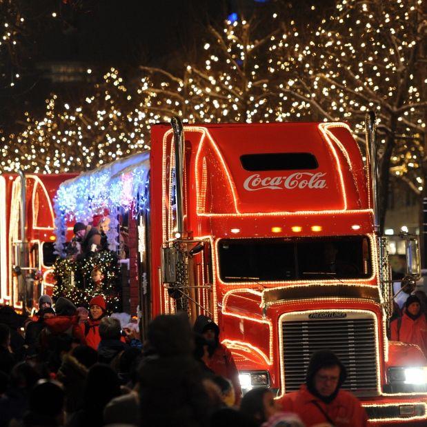 Heute in Berlin! HIER besuchen uns die Weihnachtstrucks (Foto)